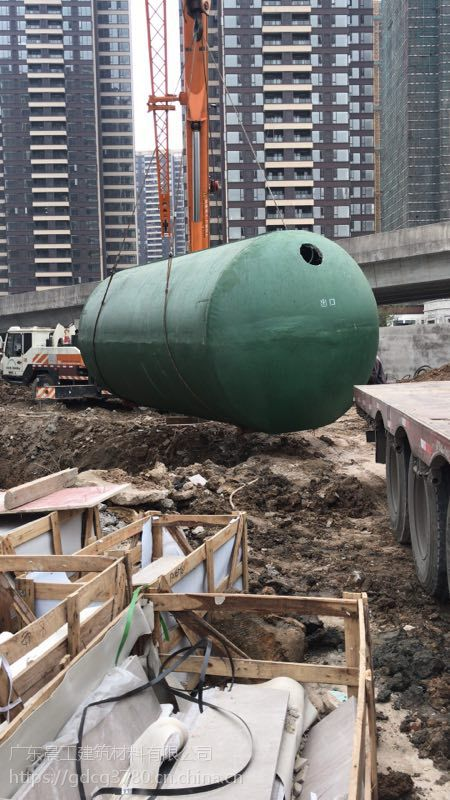 广东晨工整体式钢筋混凝土化粪池 价格实惠 售后完善