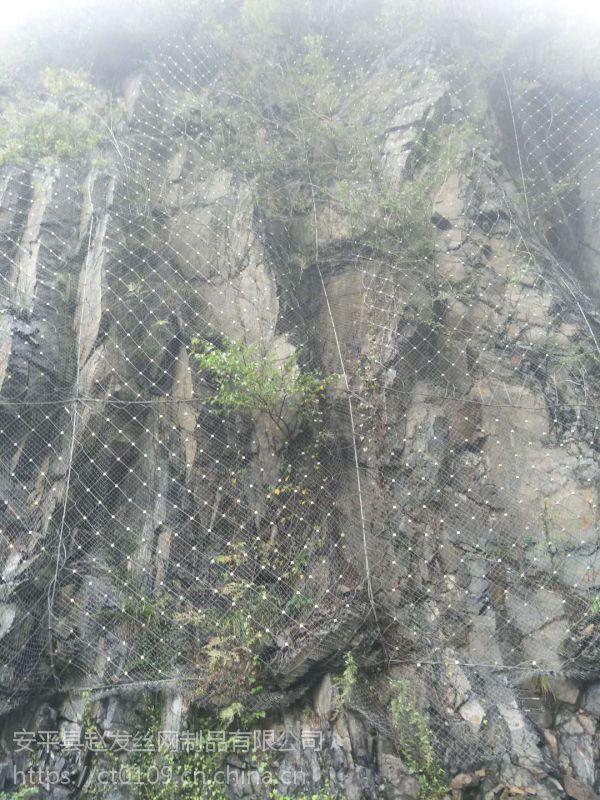 环形边坡防护网厂家.山体护坡防护网.主动网防护报价