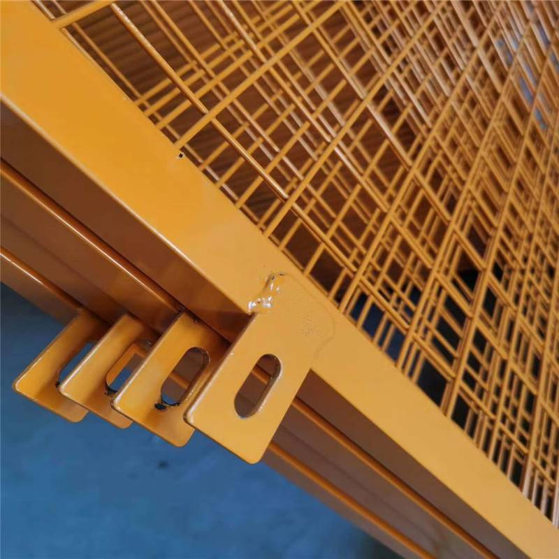 工地临时护栏 建筑基地围栏 基坑防护网