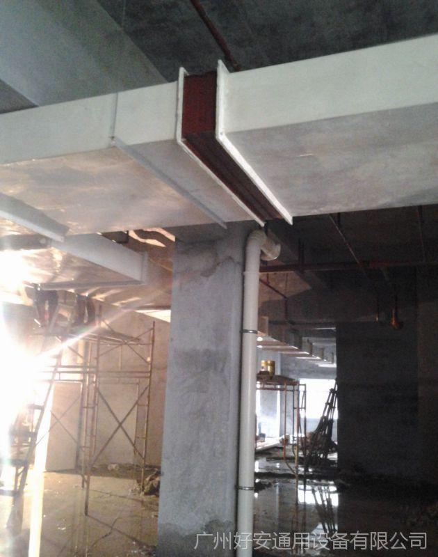 厂家直销无机玻璃钢风管 不燃A级无机玻璃钢通风管道