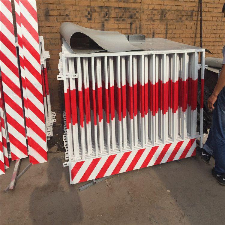 建筑施工防护围栏@聚光厂家供应钢材临边防护栅栏