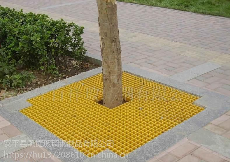 黄色聚酯树穴盖板施工图