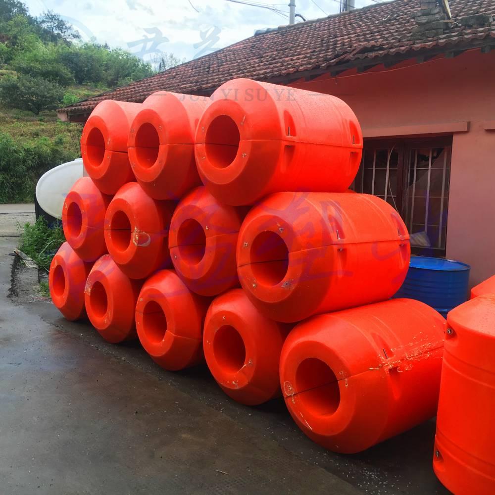 孔径22cm水循环管道浮筒 直径500mm管道浮筒