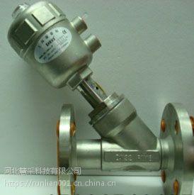 资阳耐腐蚀气控角座阀DN25不锈钢气动角座阀DN40的使用方法