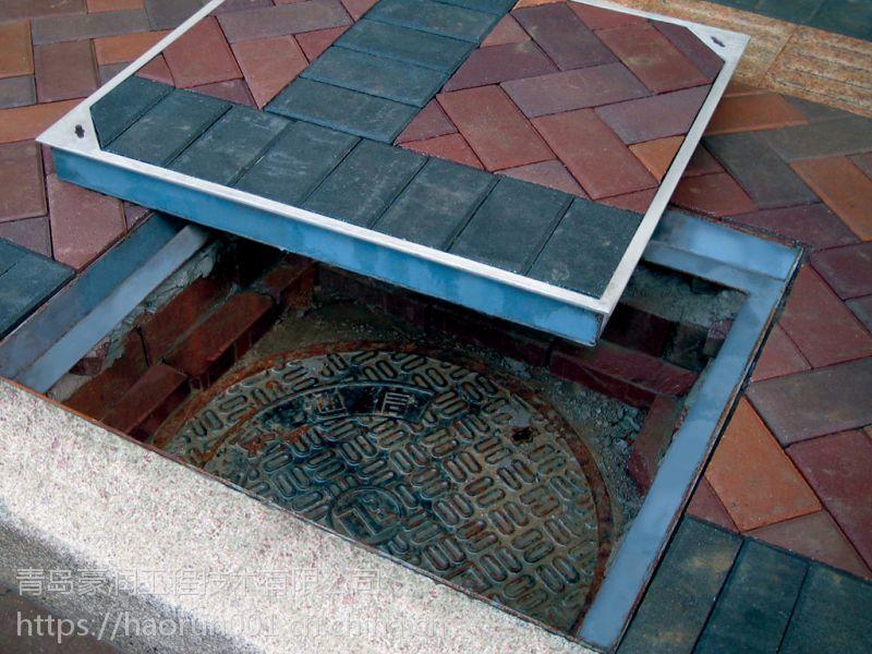豪润沃森系列井盖,不锈钢井盖