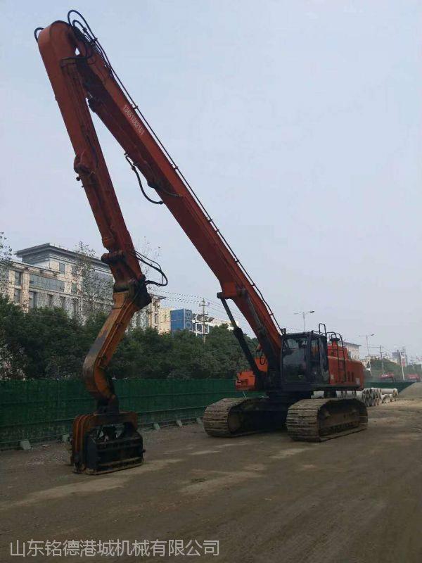 神钢250隧道远距离挖掘机加长臂 制作长度为13-32米范围 按长度订做