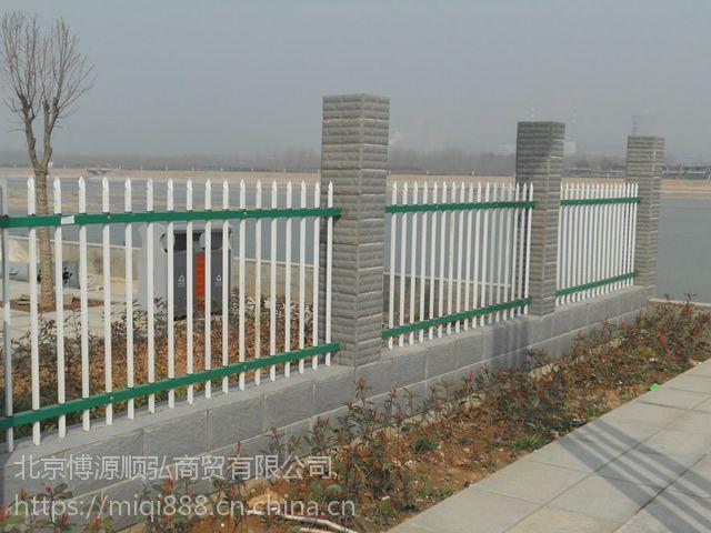 Q235威海豪华围墙栏杆,威海锌钢草坪栅栏,仿竹草坪栅栏,锌钢道路隔离栏HC,弯弧喷塑围栏