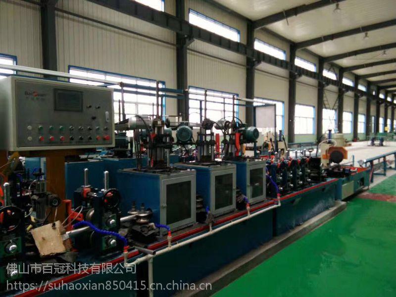 山东供应精密不锈钢焊管机组焊管机成套设备方管焊管生产线全自动化