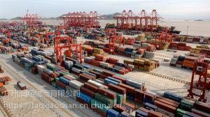 广东到黄岛集装箱船门到门运输