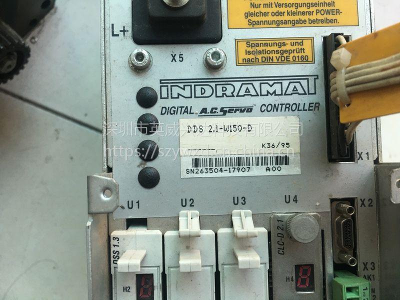 INDRAMAT力士乐伺服放大器过载,编码器异常修复