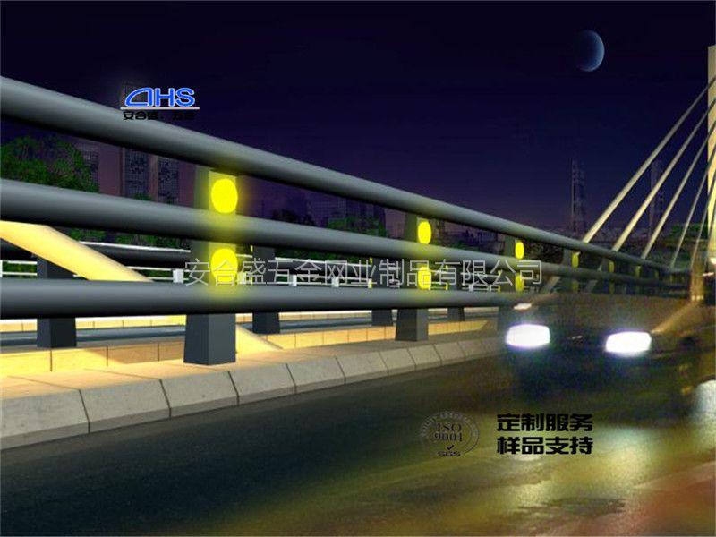 灯光桥梁护栏厂家定制生产