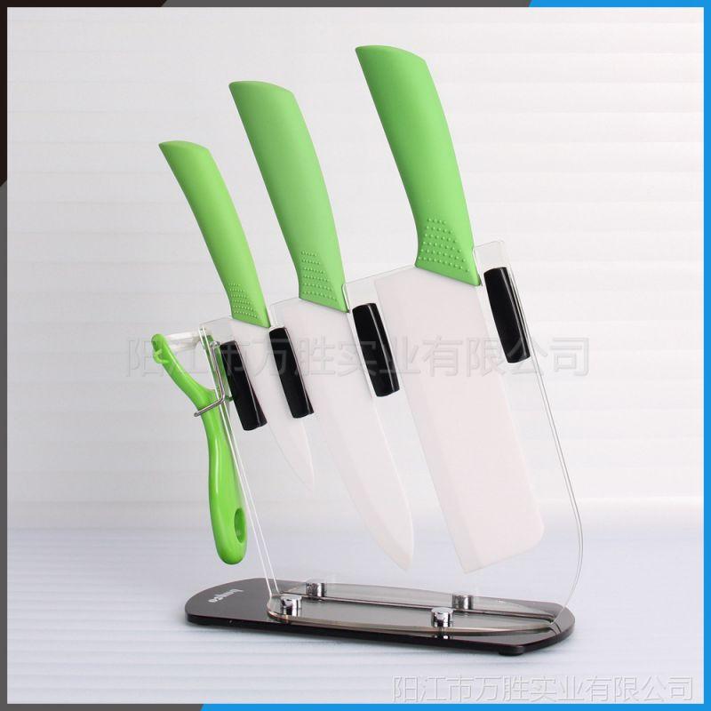 厂家直销 五件套陶瓷刀套装 菜刀套装  送礼佳品