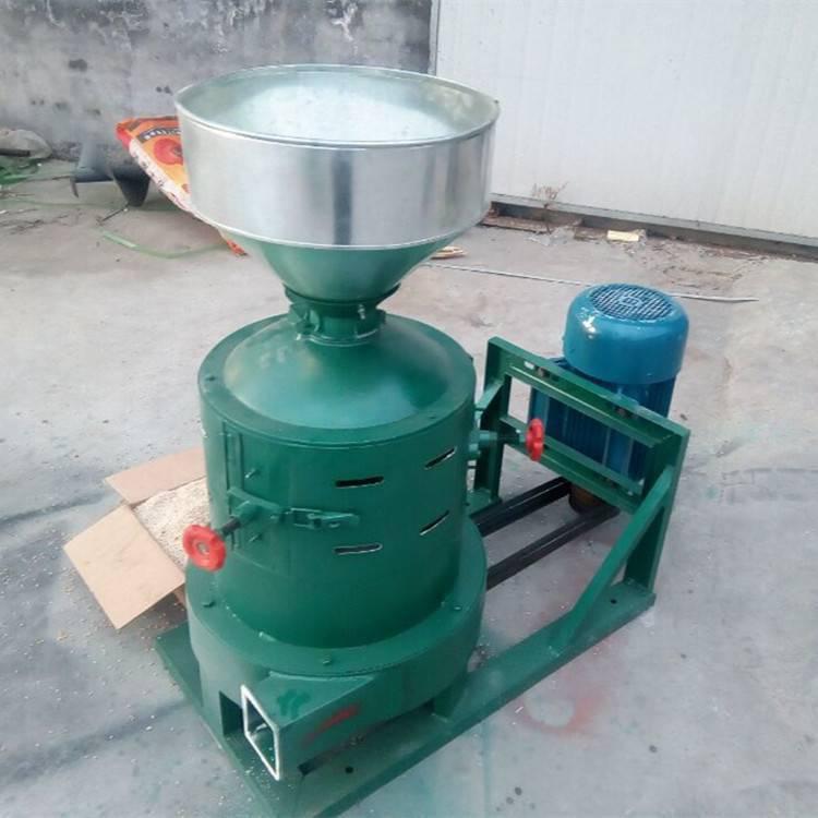 太原谷子碾米机 单相电脱皮碾米机 家用粮食脱皮机