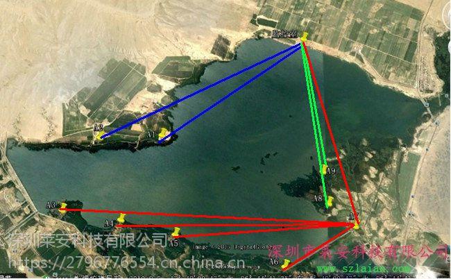 深圳莱安LA-5839无线网桥大型养殖场视频监控无线传输