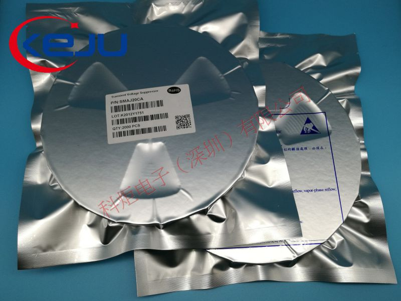 TVS二极管,SMBJ8.0CA,600W,浪涌保护器,双向保护二极管,原厂直销,KEJU