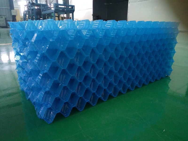 专业生产冷却塔填料 定制各种异形填料  亿恒塑料