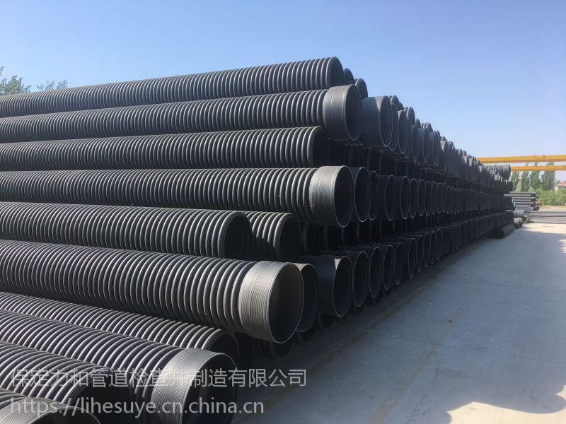 大量供应力和hdpe双壁波纹管 排水管排污管 市政工程波纹管
