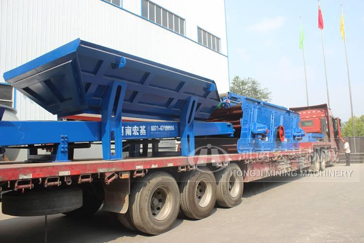 广西投资一套移动碎石机生产线设备50万够吗