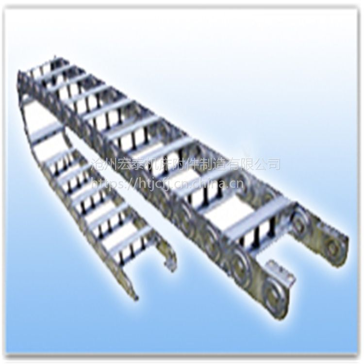 长期供应TL型钢制拖链、桥式钢铝拖链、可以拼装连接