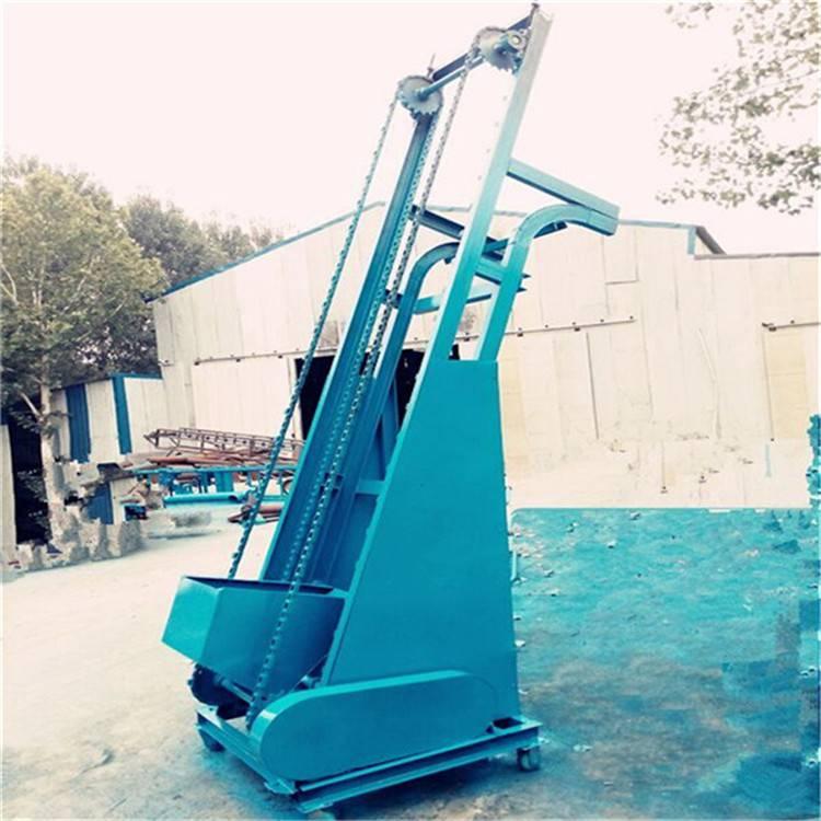 自动卸料单斗式提升机 垂直翻斗式上料机 大豆装罐送料机