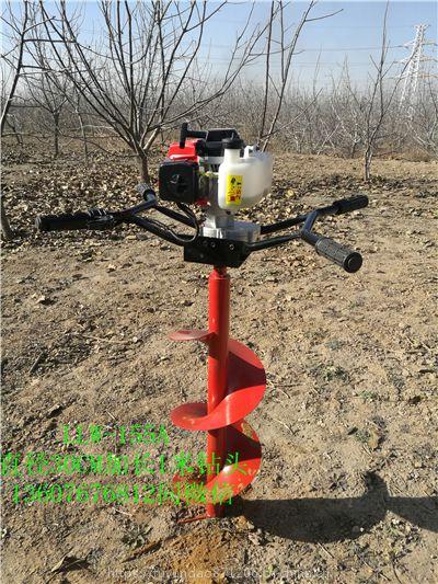 植树挖坑机技术突破大功率