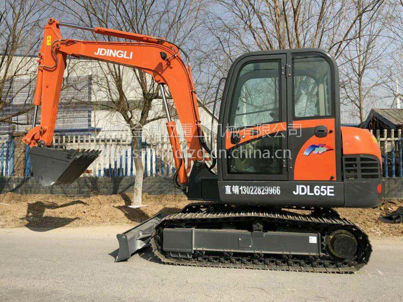 大履带小型挖掘机 金鼎立65微型挖掘机