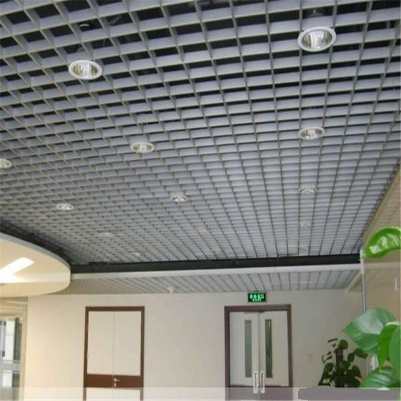 广东德普龙聚脂漆喷涂铝合金格栅加工定制厂家报价