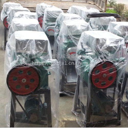 供应绿豆大豆挤扁机 杂粮压扁机小型家用粮食加工设备