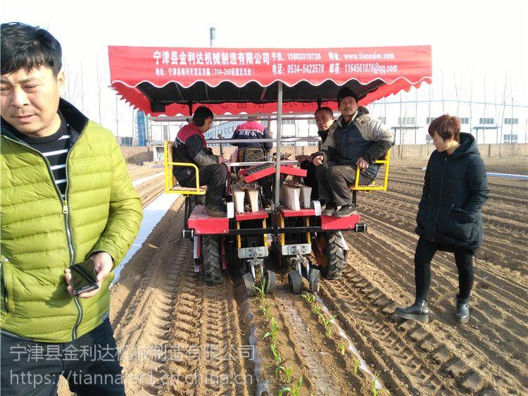移栽机中国3.15诚信企业使用寿命长的辣椒移栽机宁津田耐尔