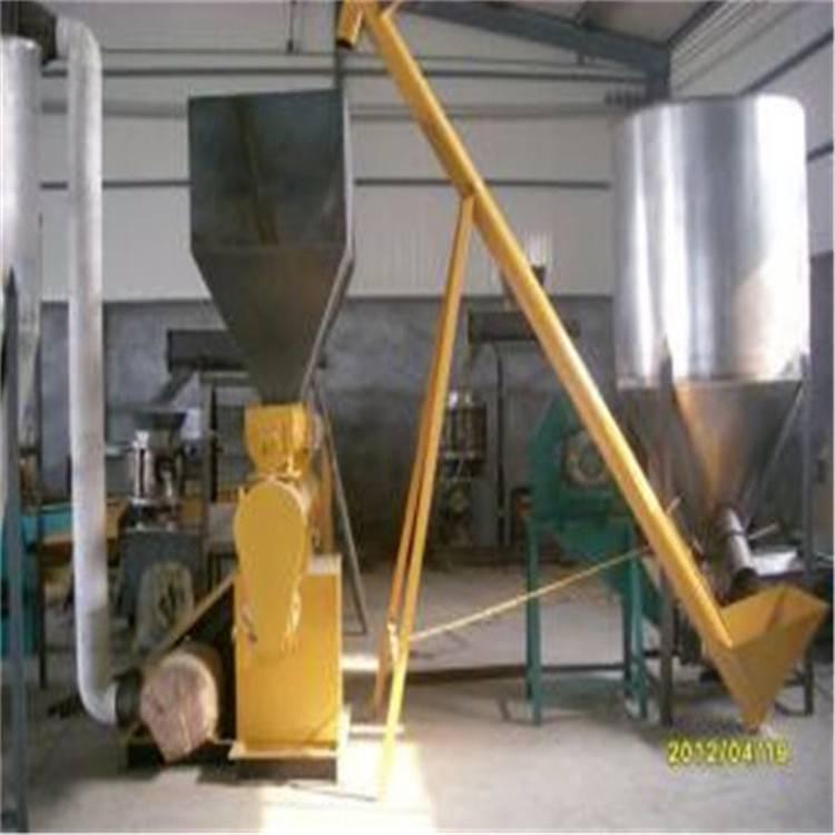汇众水泥蛟龙式上料机 粉料管式提升机 工地用散料装罐输送机