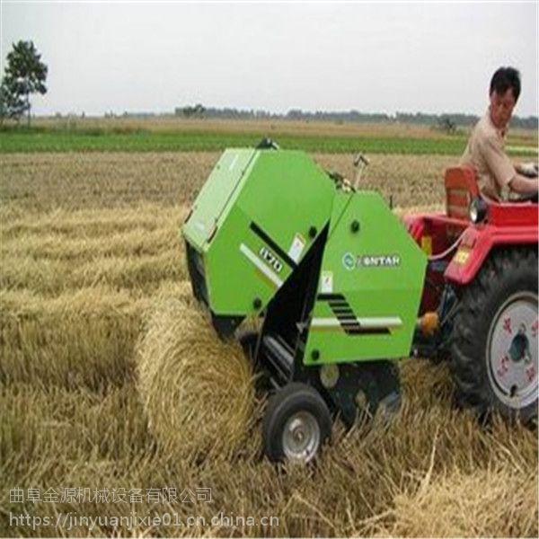 保定热销新型青储打捆机 畜牧草打捆包膜机