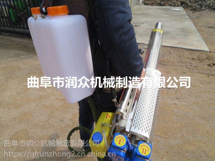 大棚蔬菜除虫喷雾器 水稻谷子打药机 脉冲式弥雾机 润众
