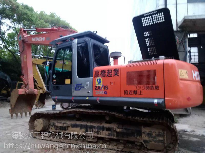 天津二手挖掘机 日立200一3G挖掘机 质量保证的二手挖机。