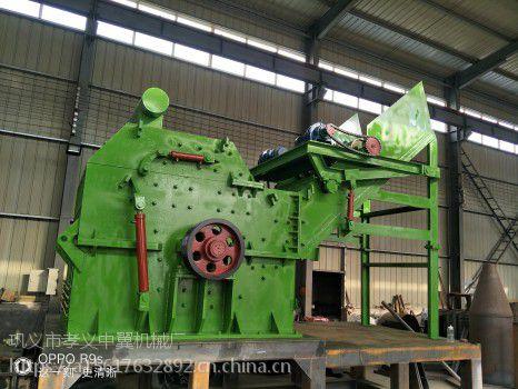 废钢破碎机对废旧钢丝循环利用起到的作用