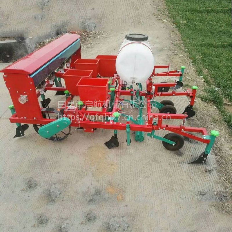 播种喷药覆膜机价格 自动覆膜机规格 马铃薯播种起垄机厂家
