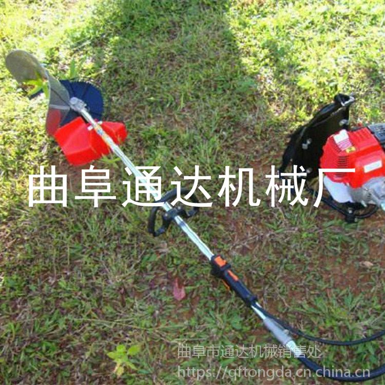 多功能小型割草机 沙质地除草机 通达牌 菜园背负式割草机 低价零售