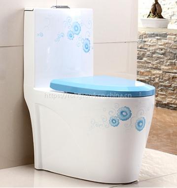 浴室洗手间陶瓷现代新款连体彩金高档马桶座便器
