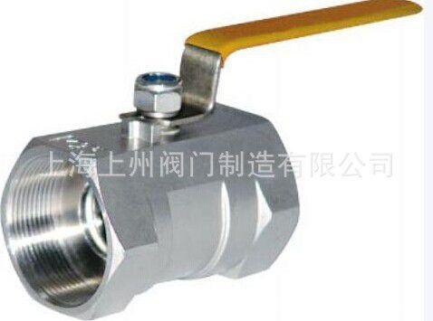 长期生产供应 一片式球阀 不锈钢浮动式球阀图片