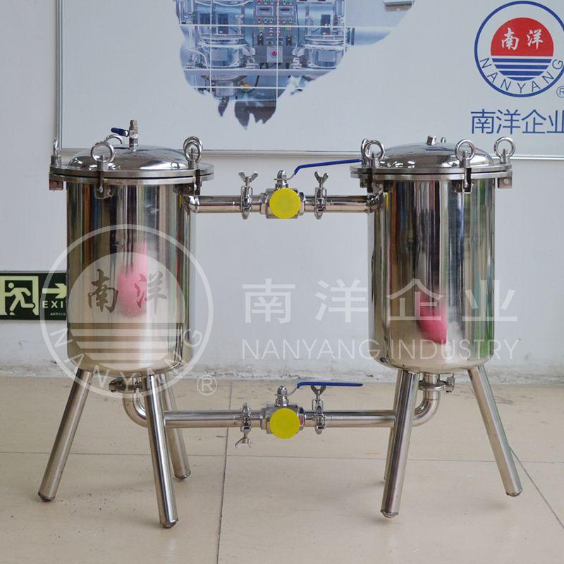 厂家直销广州南洋不锈钢双联过滤器