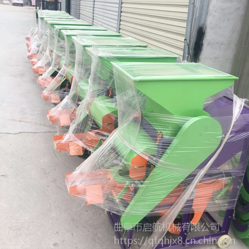 启航大型油坊用花生剥壳机 新型花生果种子磕皮机 果子脱壳机价格