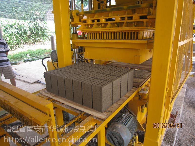 涿州粉煤灰轻体砖机透水砖机华源砖机自动码垛省人工