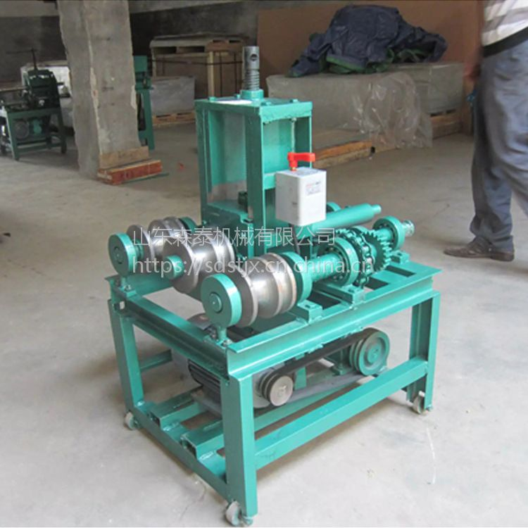 森泰76型立式弯管机 电动弯管机 手动管子折弯机