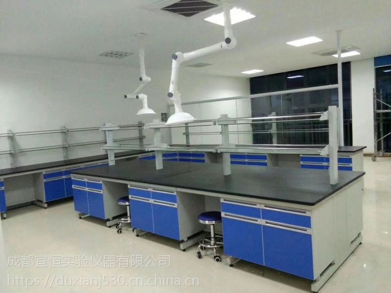 宜恒厂家直销钢木实验台、定做中央台、边台及非标定做