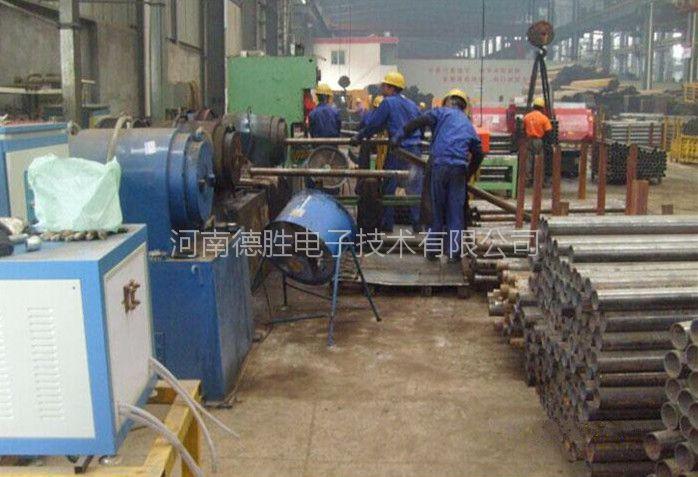 供应螺旋地桩缩口加热设备,管件热弯感应加热电源