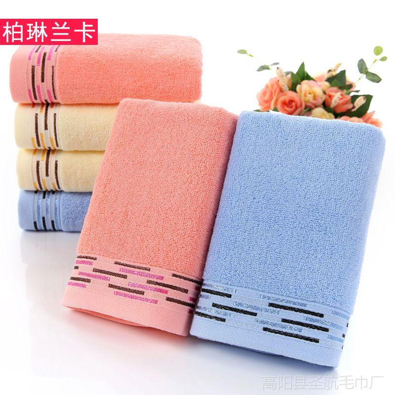 新品日系纯棉32股冰感巾 亮丝瑜伽擦汗毛巾 运动健身毛巾定制