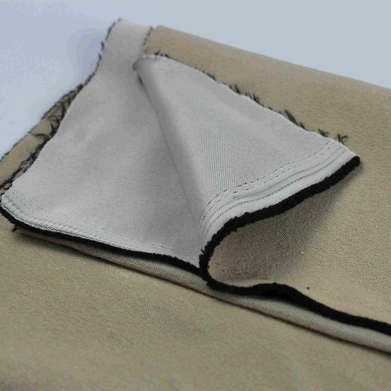 铠纶纱线阻燃涤纶复合丝遮光布