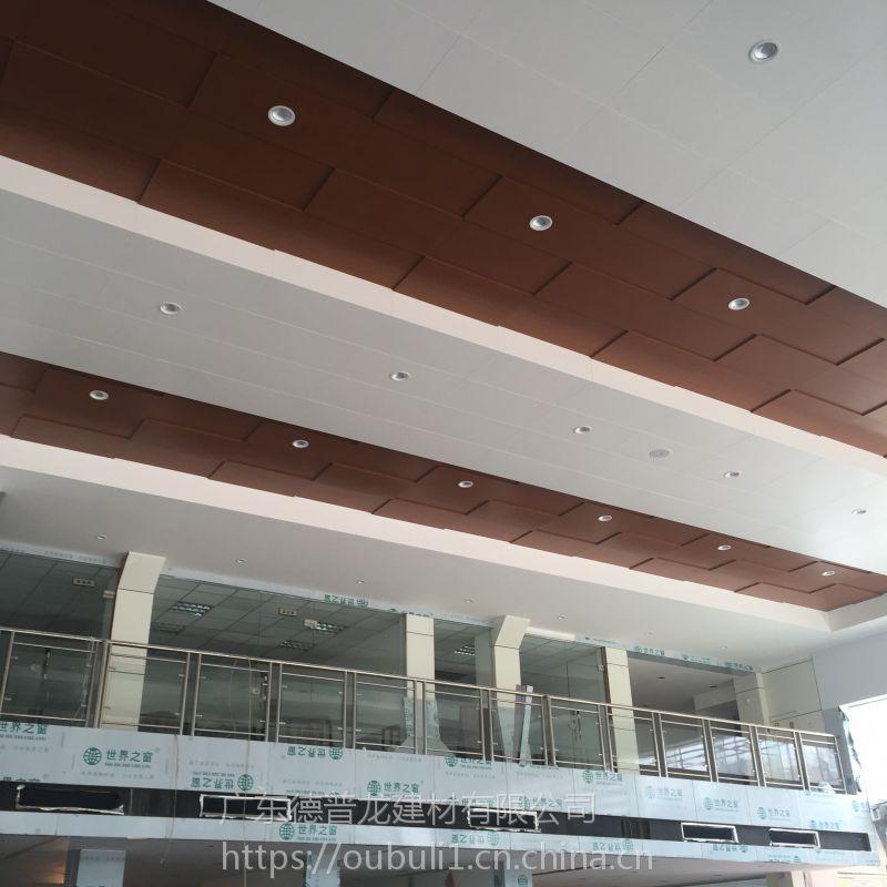 广东德普龙单向龙骨勾搭式结构4S店镀锌天花板吊顶价格合理