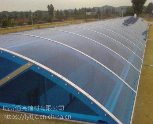 抗紫外线抗静电厂房顶棚玻璃钢透明采光瓦FRP波浪瓦纤维树脂瓦