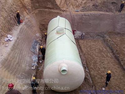 新疆喀什市玻璃钢化粪池 污水处理设备
