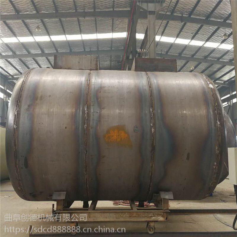 新型油罐厂家 防腐双层油罐图片
